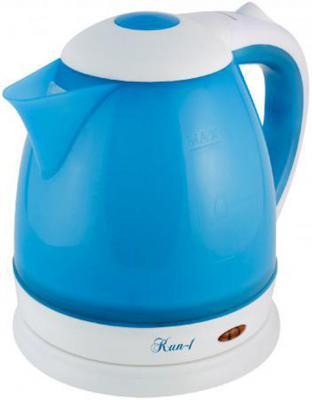 Чайник Великие реки Кип-1 1800 Вт синий 1.5 л пластик