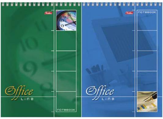 Блокнот Хатбер OFFICE LINE A5 60 листов 004824 60Б5 сп /OL в ассортименте блокнот index in0103 a550 a5 50 листов в ассортименте