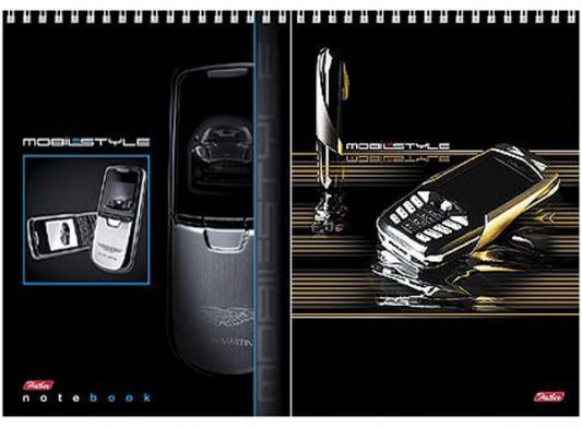 Блокнот Хатбер Мобильный телефон A5 60 листов 004826 60Б5 сп /МТ в ассортименте
