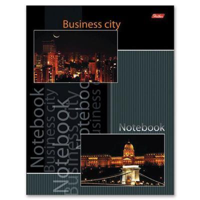 Блокнот Хатбер BUSINESS CITY 004343 A5 80 листов 80ББ5В1_08959 в ассортименте 80ББ5В1_08959