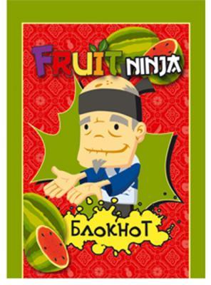 Блокнот Action! FRUIT NINJA A6 40 листов в ассортименте, FN-ANU-6/40 FN-ANU-6/40