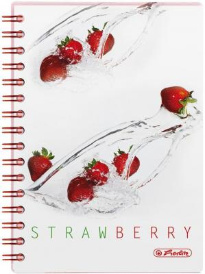 Блокнот Herlitz FRESH FRUIT STRAWBERRY A6 100 листов 11292125 11292125