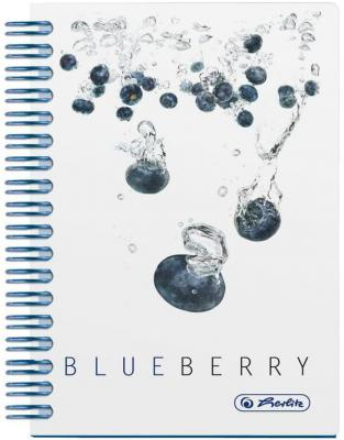 Блокнот Herlitz FRESH FRUIT BLUEBERRY A6 100 листов 11292133 11292133