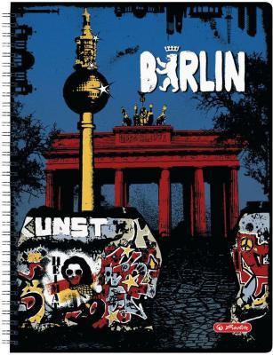 Блокнот Herlitz City Trips Berlin A4 70 листов 11301421 11301421