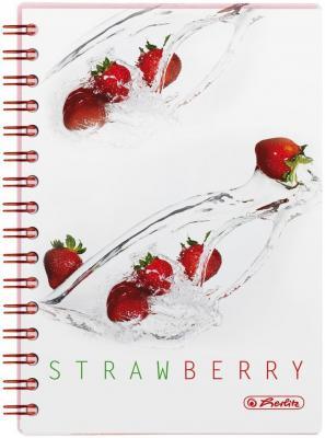 Блокнот Herlitz Fresh Fruit Strawberry A5 100 листов 11306289 11306289
