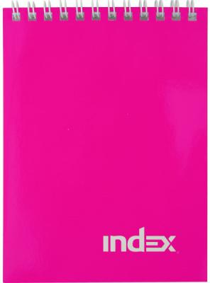 Блокнот Index Colourplay A7 40 листов INLcp-7/40p INLcp-7/40p степлер index ims310 gy 20 листов