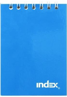 Блокнот Index Colourplay A7 40 листов INLcp-7/40bu блокнот альт чудо щеночки a7 40 листов 3 40 065 д