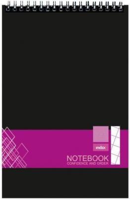 Блокнот Index IN0101-A740 A7 40 листов в ассортименте IN0101-A740 блокнот альт чудо щеночки a7 40 листов 3 40 065 д