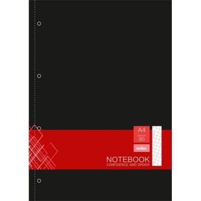 Блокнот Index IN0103-A450 A4 50 листов в ассортименте блокнот index in0101 a460 a4 60 листов в ассортименте