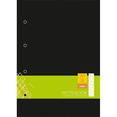 Блокнот Index IN0103-A550 A5 50 листов в ассортименте IN0103-A550