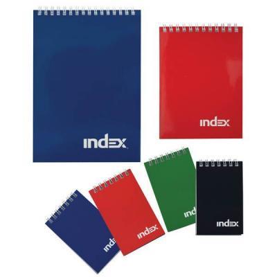 Блокнот Index Office classic A5 40 листов INLcl-5/40r INLcl-5/40r блокнот dinosaurs a5 40 листов кремовая бумага 402783