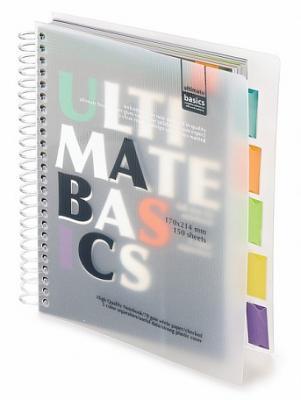 Блокнот Альт Ultimate Basics A5 150 листов в ассортименте 3-150-376