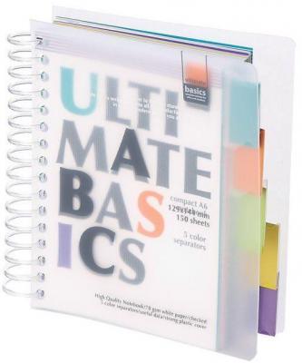 Блокнот Альт Ultimate Basics A6 150 листов 3-150-377 в ассортименте 3-150-377 блокнот noname ultimate basics easy go 60 листов цвет желтый оранжевый