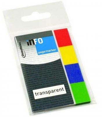 Стикер Global 160 листов 20x50 мм многоцветный 567000
