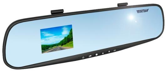 "Видеорегистратор Artway AV-610 4"" 1920x1080 120° microSD microSDHC"