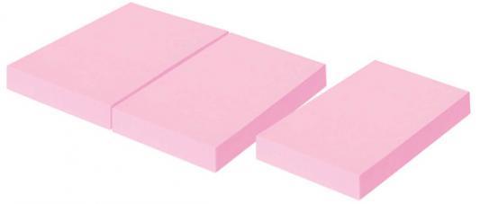 Набор бумаги с липким слоем Index 100 листов 51х38 мм розовый I431804