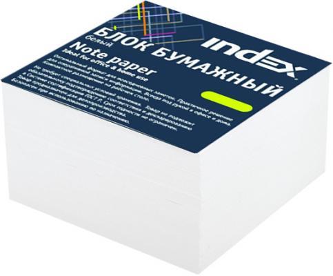 Блок бумажный Index 80х80х50 мм белый I885/R mead plain index card