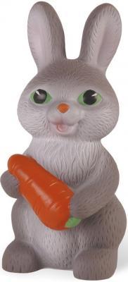 Резиновая игрушка для ванны Огонек Заяц Тимошка 18 см С-615
