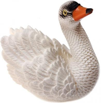 Резиновая игрушка для ванны Огонек Лебедь 18 см С-815