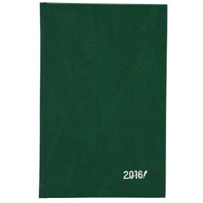 Ежедневник датированный, А5, бумвинил, зеленый IDD016/A5/GN/R