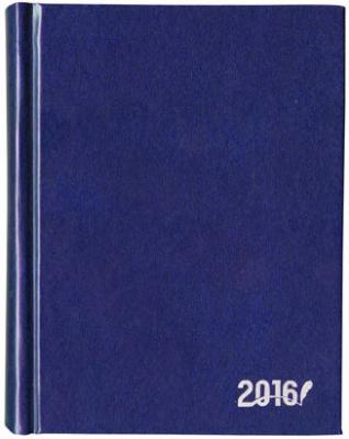 Ежедневник датированный Index IDD0316/A6/BU/R A6 искусственная кожа