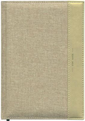 Ежедневник датированный Index Canvas A5 искусственная кожа IDD0716/A5/BE