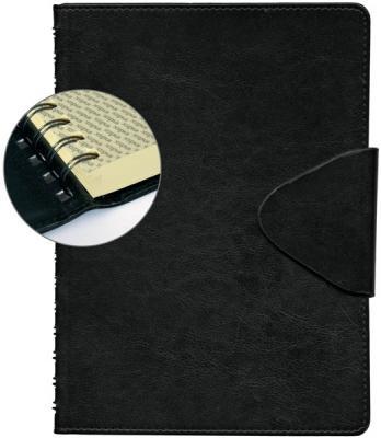 Ежедневник датированный Index Boss A5 искусственная кожа IDD1216/A5/BK