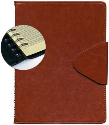 Ежедневник датированный Index Boss A5 искусственная кожа IDD1216/A5/BR
