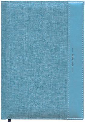 Ежедневник датированный Index Canvas A5 искусственная кожа IDD0716/A5/BU