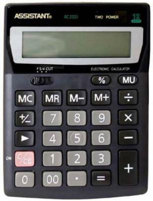 Калькулятор настольный Assistant AC-2303 12-разрядный  AC-2303