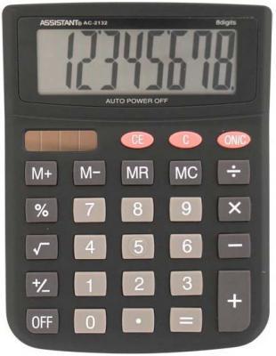 Калькулятор настольный Assistant AC-2132 8-разрядный AC-2132 ac contactor lc1f115d7 lc1 f115d7 42v lc1f115e7 lc1 f115e7 48v lc1f115f7 lc1 f115f7 110v lc1f115g7 lc1 f115g7 120v