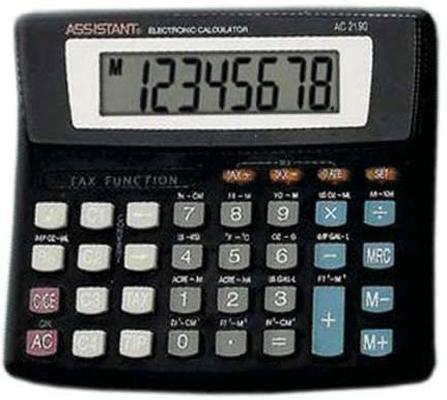 Калькулятор настольный Assistant AC-2190 8-разрядный