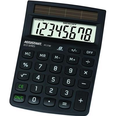 Калькулятор настольный Assistant AC-2196eco 8-разрядный  AC-2196eco