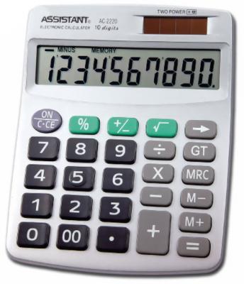Калькулятор настольный Assistant AC-2220 10-разрядный
