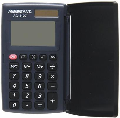 калькуляторы assistant калькулятор карманный Калькулятор карманный Assistant AC-1127 8-разрядный