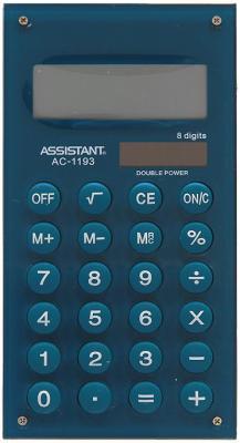 Калькулятор карманный Assistant AC-1193Mareno 8-разрядный