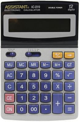 цена на Калькулятор настольный Assistant AC-2319 12-разрядный