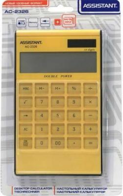 цена на Калькулятор настольный Assistant AC-2326 12-разрядный