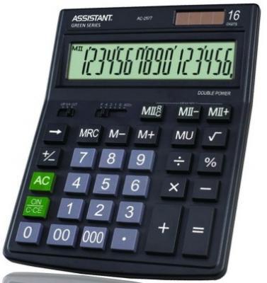 Калькулятор настольный Assistant AC-2577 16-разрядный