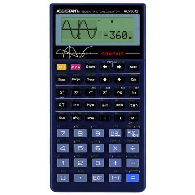 Калькулятор научный Assistant АС-3612 10+2-разрядный черный