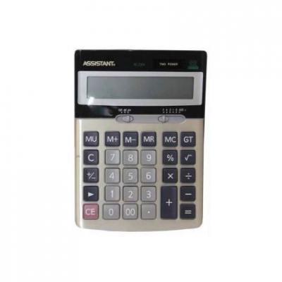 Калькулятор настольный Assistant 12-разрядный калькулятор настольный assistant ac 2132 8 разрядный ac 2132