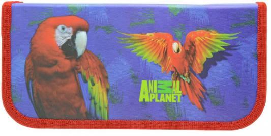 Пенал на одно отделение Action! ANIMAL PLANET в ассортименте AP-PC01-02 альбом для рисования action animal planet на гребне 40 листов в ассортименте