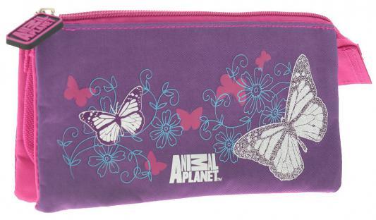 Пенал косметичка Action! Animal Planet: Бабочки AP-APC4216/1/14 AP-APC4216/1/14