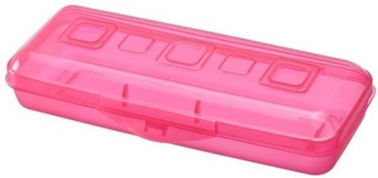 Пенал пластиковый Action! Премиум ПН17 ярко-розовый ПН17