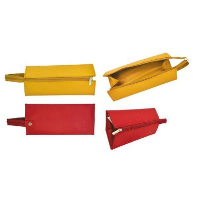 Пенал на молнии, 1 отделение, без наполнения, разм. 21 х 10 х 5 см, ассорти 2 цвета APC4253