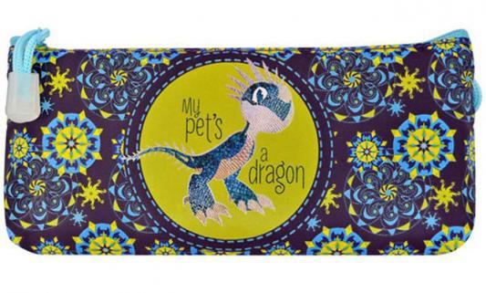 Пенал косметичка Action! DRAGONS DR-APC4200/1 DR-APC4200/1 пенал на двух молниях action dragons конгрев метал разм 190х105 мм с черным драконом