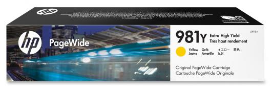 Картридж HP 981Y L0R15A для PageWide 586/556 желтый rga r 981 sports watche red