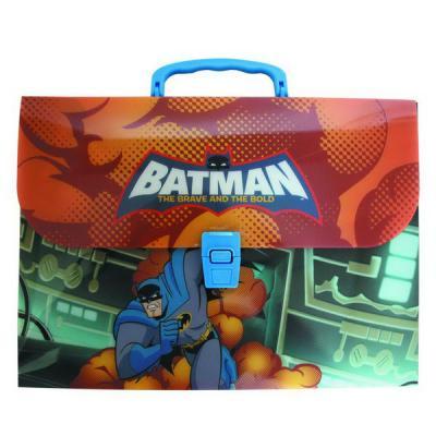 Папка-портфель ACTION! /Бэтмен: отважный и смелый/, 0,7мм, А4, ассорти (в разборе) BA-AEF315