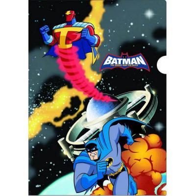 Папка-уголок ACTION! /Бэтмен: отважный и смелый/, 0,2мм, А4, ассорти BA-APF303