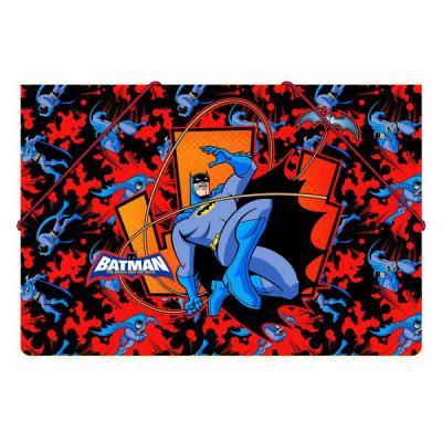 Папка на резинках ACTION! /Бэтмен: отважный и смелый/, 0,5мм, А4, ассорти BA-APF311